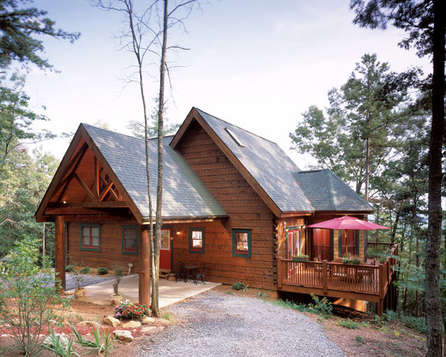 Barna Log Home